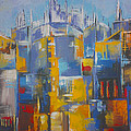 Milene Hertug - The Blue City