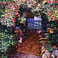 The Blue Garden Gate by David Lloyd Glover