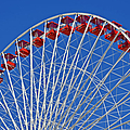 The Ferris Wheel Chicago by Christine Till