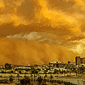 Angela A Stanton - The Haboob Over Arizona
