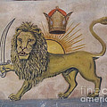 Persian Art - The Lion With The sword...