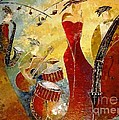 Amalia Suruceanu Art - The Music Never Stopped