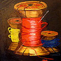 Joseph Hawkins - Three Colored Spools