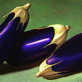 Frank Wilson - Three Eggplants