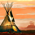 Bob and Nadine Johnston - Tipi or TePee Monument...