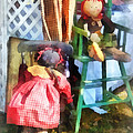 Susan Savad - Toys - Two Rag Dolls at...