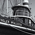 Tugboat Helen Mcallister II by Clarence Holmes
