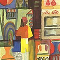 Tunisian Market by August Macke
