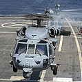 Two Mh-60s Sea Hawk Helicopters Take by Stocktrek Images