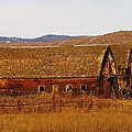 Jeff  Swan - Two Old Barns Near Thorp...