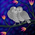 Latha Gokuldas Panicker - Two Owls