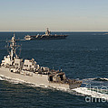 Uss James E. Williams Is Underway by Stocktrek Images