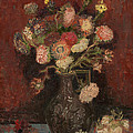 Vincent Van Gogh - Vase with Chinese asters...