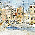 Peter Art Gallery  - Paintings Photos Prints Posters - Venice 83 - Aquarel...