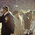 Vince Lombardi On The Sideline by Retro Images Archive