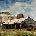 Luther   Fine Art - Barn -Vintage Barn with...