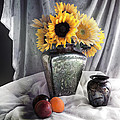 Sandra Selle Rodriguez - Vintage Sunflowers Still...