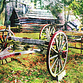 Vintage Wagon On Blue Ridge Parkway II by Dan Carmichael