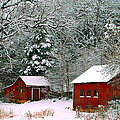Peggy  Franz - Vintage Winter Barn
