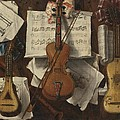 Sebastiano Lazzari Trompe - Violin and Music Notes