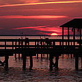 Olahs Photography - Sunset at the Hilton Pier
