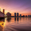 Debra and Dave Vanderlaan - West Palm Beach Skyline...