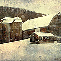 Christina Rollo - White Winter Barn