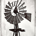 Ella Kaye - Windmill BW Photo Art