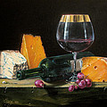 Daniel Cristian Chiriac - Wine and cheese