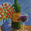 Vicki Maheu - Wine and Flowers