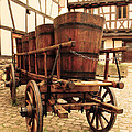 Greg Matchick - Wine Cart in Alsace...
