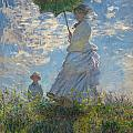 Tilen Hrovatic - Woman with a Parasol -...