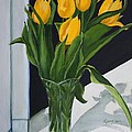 Kyong Burke - Yellow Tulips
