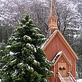 Kevin Desrosiers - Yosemite Chapel in Winter