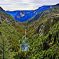 Bob Johnston - Yosemite looking down...