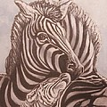 Anne Buffington - Zebra Family