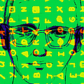 Zodiac Killer With Code And Sign 20130213 by Wingsdomain Art and Photography