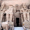 Luis and Paula Lopez -  temple of AbuSimbel