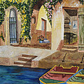 Kimberlee Weisker - Afternoon at the Piazzo