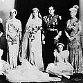 British Royal Family. Seated, From Left by Everett