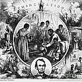 Effects Of Emancipation Proclamation by Photo Researchers
