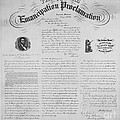 Emancipation Proclamation by Photo Researchers