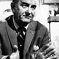Former President Lyndon Johnson by Everett
