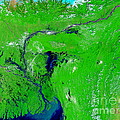 Monsoon Floods by NASA / Science Source