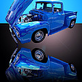 Jim Carrell - 1956 Ford Blue Pick-up