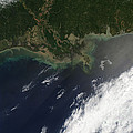 Gulf Oil Spill, April 2010 by Nasa