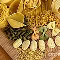 Pasta by Photo Researchers, Inc.
