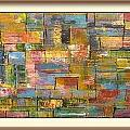 Robert Anderson - Abstract quilt art 3