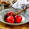 Susan Savad - Apples in a Silver Bowl