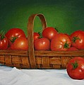 Sid Ball - Basket of Tomatoes